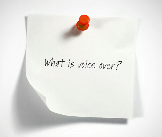 What Is Voice Over