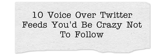 voice over twitter feeds