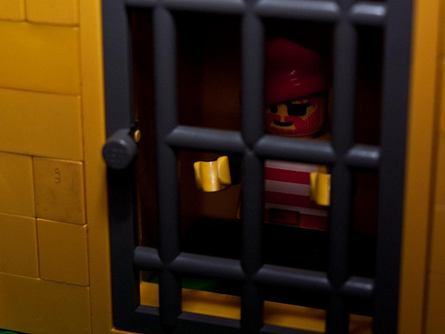Lego In Jail