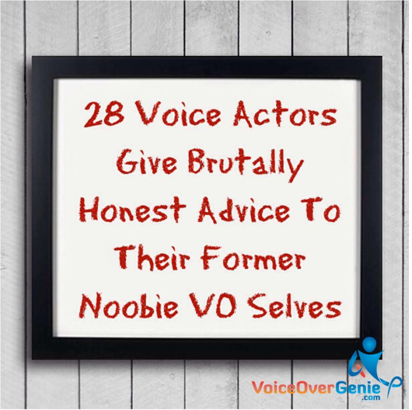 veteran voiceover advice