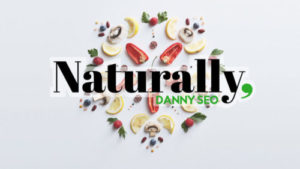 "Logo for ""Naturally, Danny Seo"" - a Saturday morning, nationally televised show John narrated for NBC"