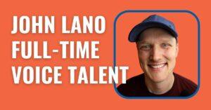 John Lano - male voice over talent