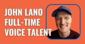 John Lano voiceovergenie.com website image